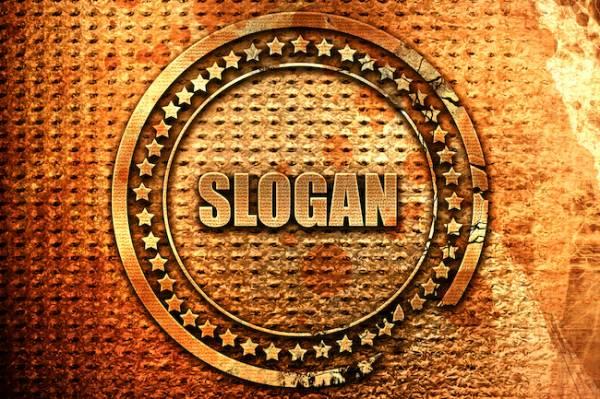 Have you got a memorable slogan?