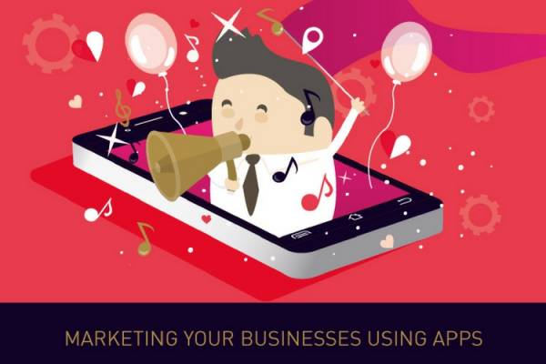 Marketing your business using apps