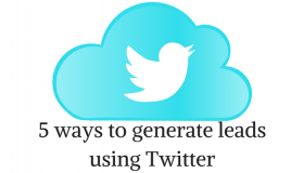 5 ways to generate leads using Twitter