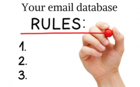 You email database: rules and regulations