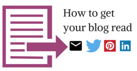 How to get your blog read