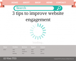 3 tips to improve engagement on your website