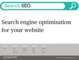 Search engine optimisation for your website