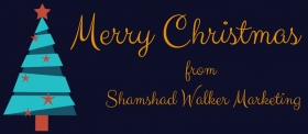 Merry Christmas from Shamshad Walker Marketing!