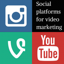 Social platforms for video marketing