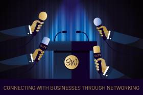 Connecting with businesses through networking